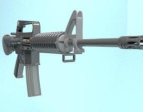 M-16 A3 3D asset