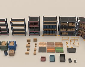 Game Ready Storage Assets 3D model