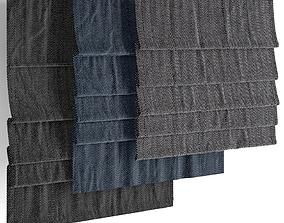 Roman blinds 16 3D model