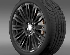 Mercedes Benz S 600 wheel 3D