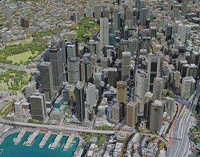 Sydney City 3D model