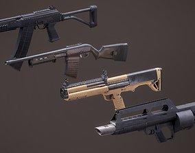 3D model Sotgun Set 2