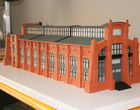 Industrial Building 3DPrint Ready city