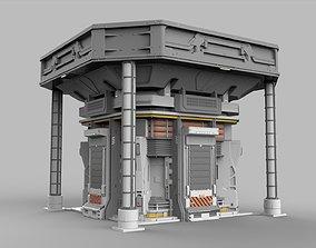 3D Sci Fi Modular Environment 12