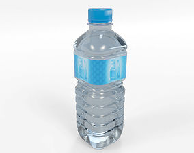 3D asset VR / AR ready Water Drink Plastic Bottle 250ml