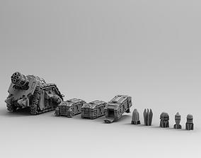3D printable model Legion Longsword Quadruple Mortar 4