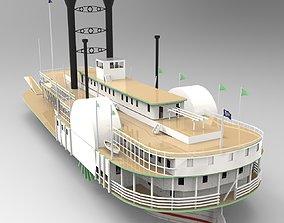 3D SBM Queen Ship