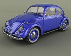 Volkswagen Beetle 1958 3D model