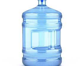 3D Dispenser Water Bottle with Cap and Handle