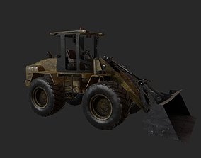 3D asset VR / AR ready Wheel Loader