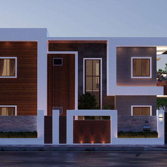 Residence Elevation Render