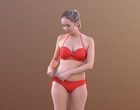 Elena 10454 - Standing Bikini Girl 3D model