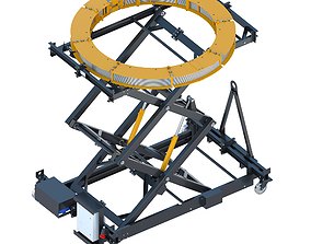 Industrial lift - Oborontest Horizontal Coil 3D