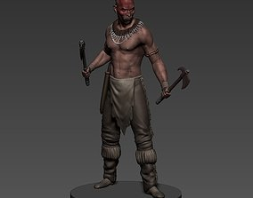 3D printable model MOHICAN WARRIOR