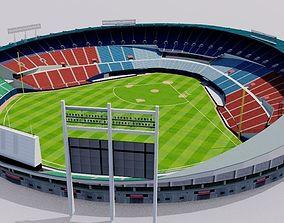 3D model Jamsil Baseball Stadium - South Korea