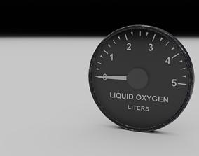 3D model F16 Liquid Oxygen Indicator