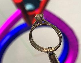Classic Solitaire Engagement ring Anello solitario Sl73 1