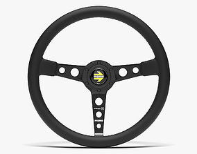 3D model Momo Prototipo Steering Wheel