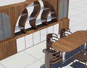 3D Dinning Table crockery