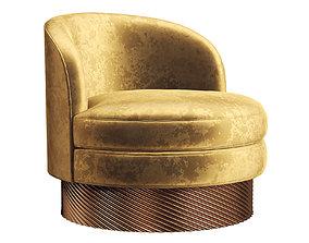Club sofa chair 107 3D