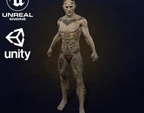 3D asset Vermat demon