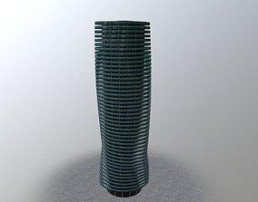 London Millwall Tower 3D asset