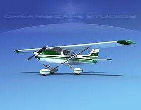 3D Cessna 172 Skyhawk 1976 V06