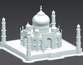 palace 3D print model Taj Mahal