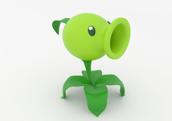 Peashooter - Plants vs. Zombies