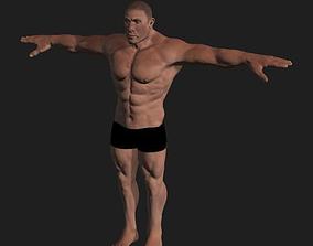 Brute Male Full Body 3D model