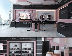 Cosmetics Store 3D