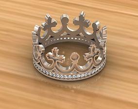 3D printable model Ring crown