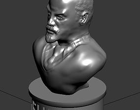 bust of Lenin 3D uprising