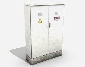 Street Assets - Electrical Box 3D model