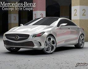 3D Mercedes Concept STD MAT