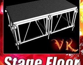 3D model Stage Floor Platform