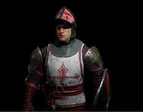 Customized Crusader 3D model