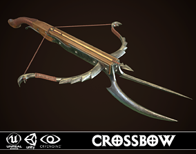 3D model animated realtime Crossbow