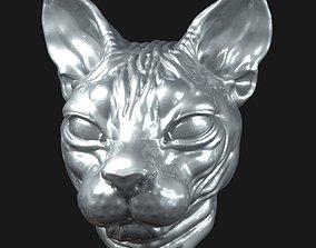 3D printable model Cat sphynx Head