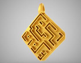3D print model Antique Charm Necklace