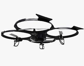 3D asset Drone Quadcopter UDI U818A