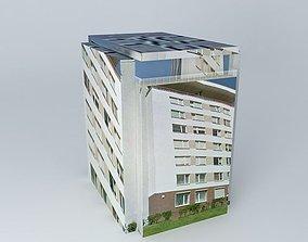 3D Archive 50 apartment building