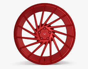 3D model Vossen VPS 304 Red