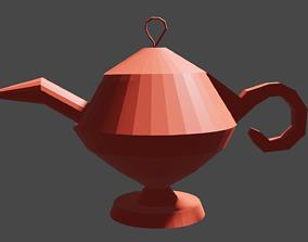 3D model Low Poly Oil Lamp