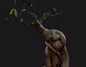 realtime Bonsai tree - Low Poly - Game ready Low-poly 3D