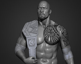 The Rock - Dwayne Johnson 3D Print