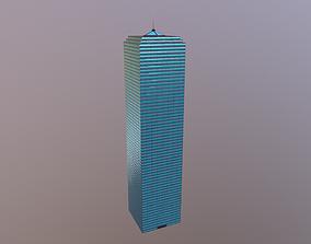 3D model 64 Storey Skyscraper