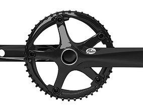 3D model Gates Bicycle Crankset S300 GXP