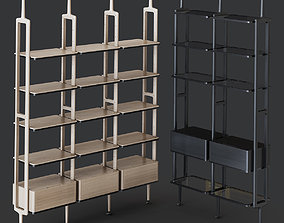 3D Aria rack by Porada