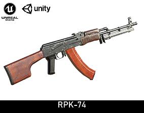 RPK-74 3D asset
